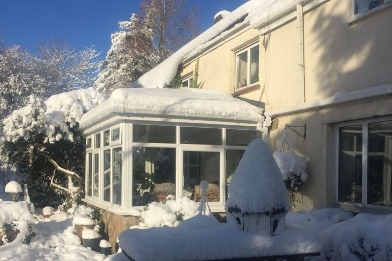 Warm Conservatory Roof Replacement - They Are Perfect For Winter Snow - LightWeight Tiles
