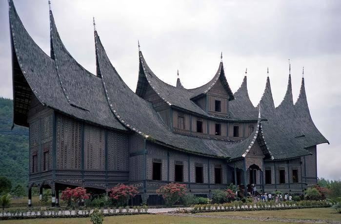 Pagaruyung Palace in Sumatra